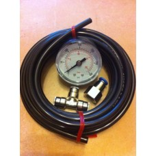 Inline Pressure Gauge/Monitor (Only when ordering a kit)