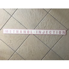 Large methanol-injection.co.uk web sticker (Red)