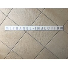 Large methanol-injection.co.uk wed sticker (Black)