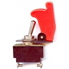 Toggle switch with Red flip up cover